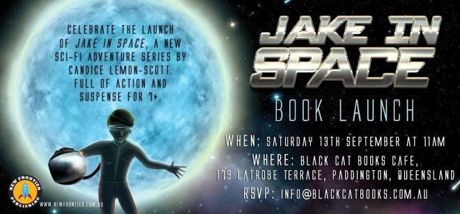 Jake in Space Book Launch